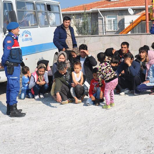 Kırklareli'nde 38 düzensiz göçmen yakalandı