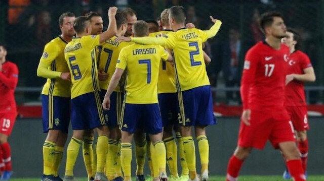 Türkiye 0-1 İsveç (Goller ve geniş özet)