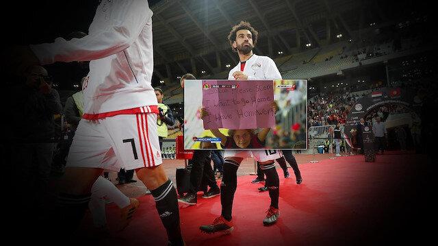 Salah golü geç attığı için özür diledi