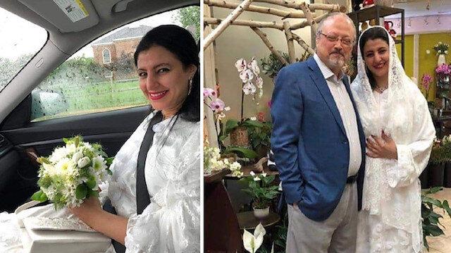 Slain Saudi Journalist Jamal Khashoggi and the woman claiming to be his wife