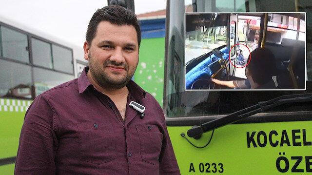 Şoför engelli çocuk için güzargahını değiştirdi