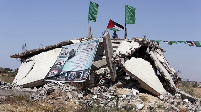 Hundreds of Gaza homes damaged in Israeli attacks