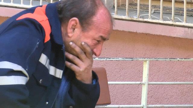 Eşinin öldürdüğü 15 aylık bebeğini gözyaşları içinde aldı