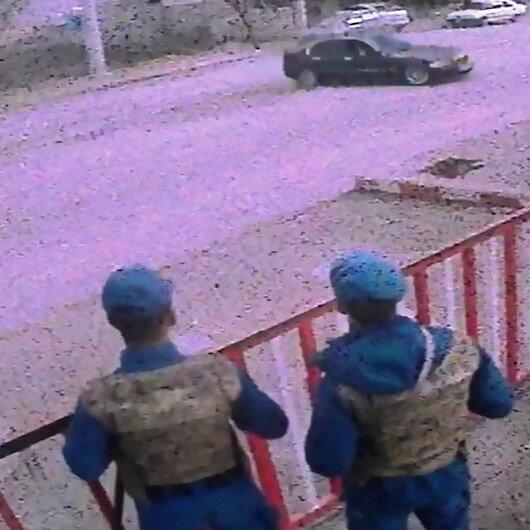 Karakol önünde drift yapan sürücüye ceza yağdı