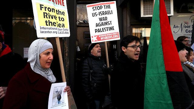 New York'ta Gazze için toplandılar
