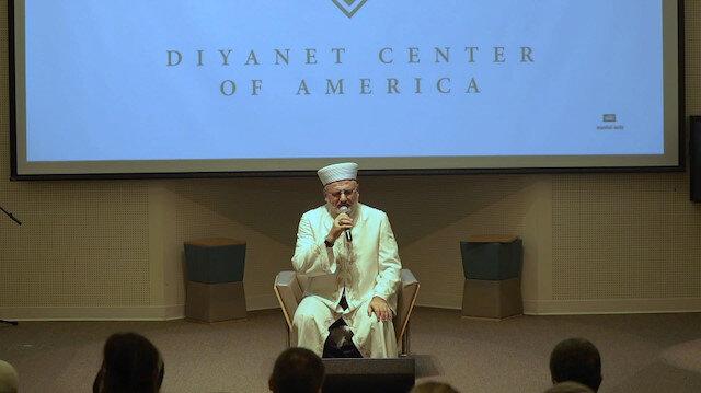 Amerika Diyanet Merkezi'nde Mevlid-i Nebi özel programı