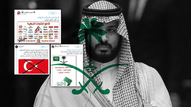 رجال ولي العهد السعودي يزكون نيران عداء تركيا على الإنترنت