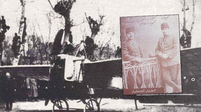 أول شهداء الجوية العثمانية يرقدون في دمشق