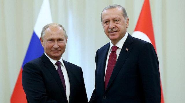 أردوغان وبوتين يفتتحان الخط البحري من مشروع