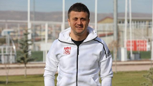 Sivasspor'un yeni hocası Hakan Keleş oldu