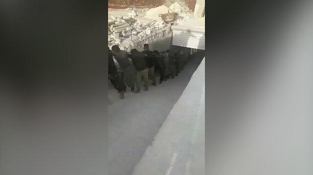 Afrin'de büyük operasyon: Yer altı çeteleri bir bir teslim oldu