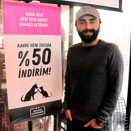 صاحب مقهى تركي يخصص نصيبا من أرباحه للحيوانات