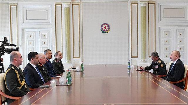 Azerbaijani president receives Turkish army chief