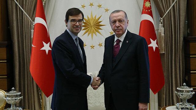 أردوغان يتسلم أوراق اعتماد السفير الإسباني