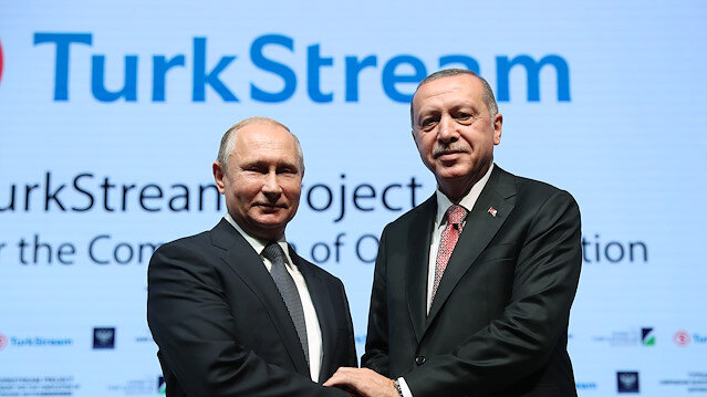 TurkStream's giant pipelaying vessel: Pioneering Spirit