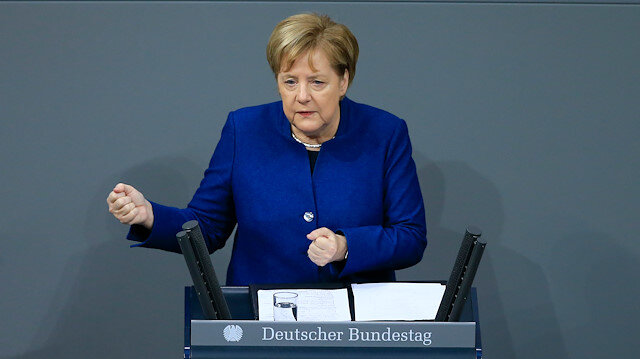 Germany's Merkel voices support for UN migration pact