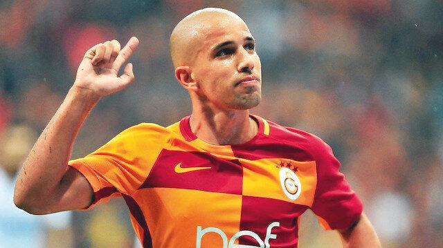 G.Saray'ın yeni 10 numarası Feghouli