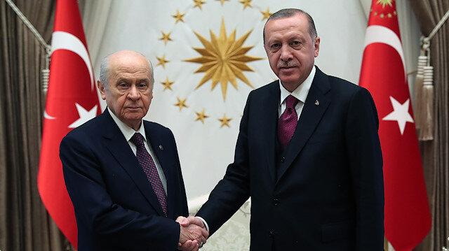 بدء لقاء أردوغان مع زعيم الحركة القومية المعارض في أنقرة