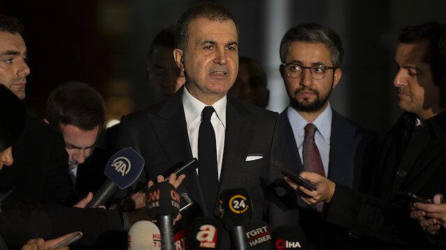 AK Parti Sözcüsü Çelik: İttifak için olumlu bir noktaya geldik