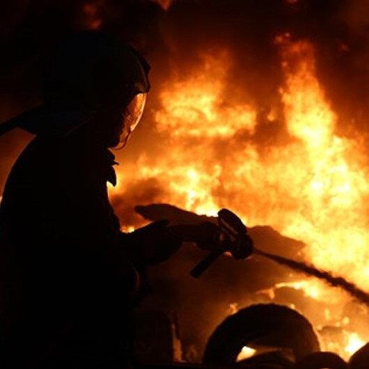 Kamyonda ısınmak için tüp kullandı yanarak can verdi