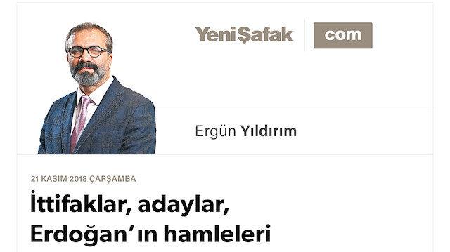 İttifaklar, adaylar, Erdoğan'ın hamleleri