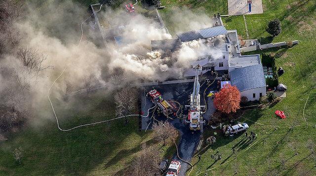 Milyoner iş adamının evinde yangın: Tüm aile ölü bulundu