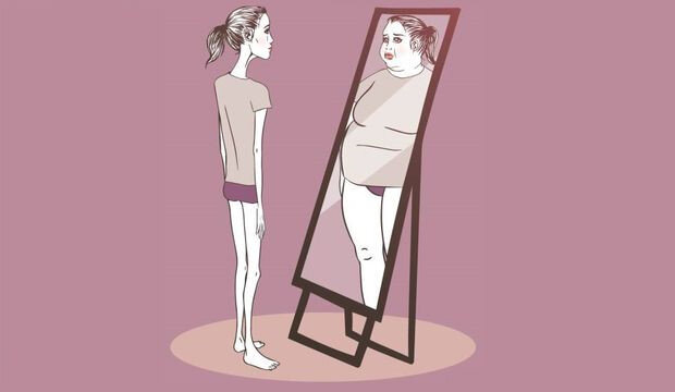 Bu rahatsızlığa yakalanan hastalar, kendilerini olduğundan daha kilolu olarak düşünüyorlar.