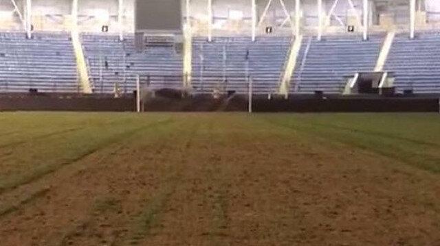 Ankaragücü-Beşiktaş maçı öncesi şoke eden görüntü