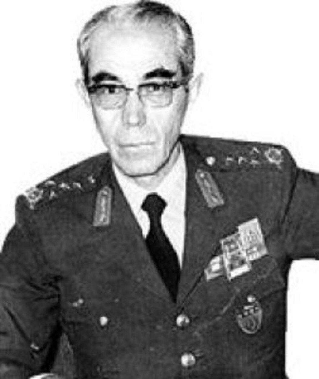 İstanbul I. Ordu Komutanı Org. Faik Türün