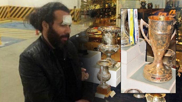 Müzedeki kupayı almaya çalışan Halit Şahin'in cezası belli oldu