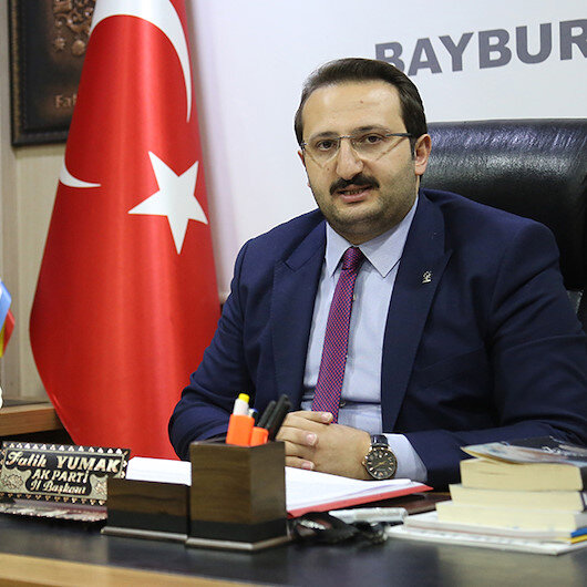 AK Parti'nin Bayburt adayı Fatih Yumak oldu