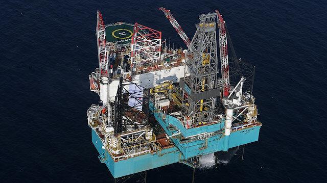 منصة تركية للتنقيب عن النفط في البحر المتوسط