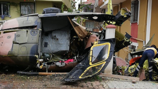 A military helicopter crashed into Sancaktepe: four martyrs