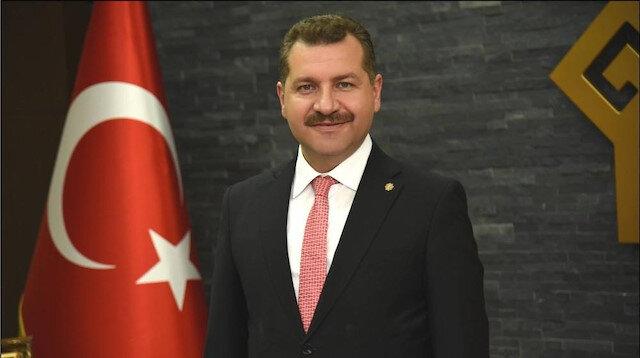 Cumhur ittifakının AK Partili Balıkesir Büyükşehir Belediye Başkan Adayı Yücel Yılmaz ile ilgili görsel sonucu