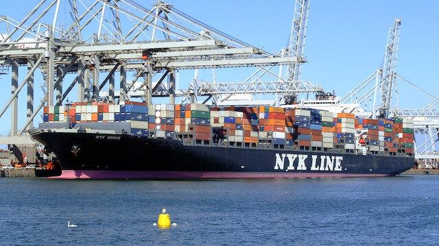 Nippon Yusen K.K isimli şirketin toplamda 800 gemisi bulunuyor.