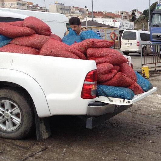 Çanakkale'de ele geçirildi: Yaklaşık 3 ton
