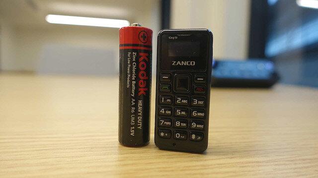 Dünyanın en küçük telefonu