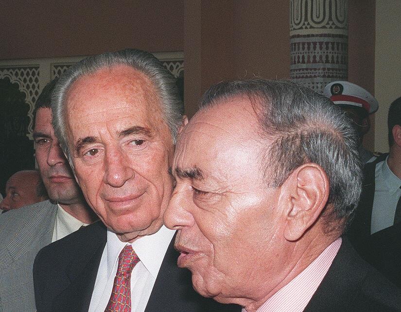 Kral Hasan'ın Şimon Peres'le çok yakın dostluğu vardı.