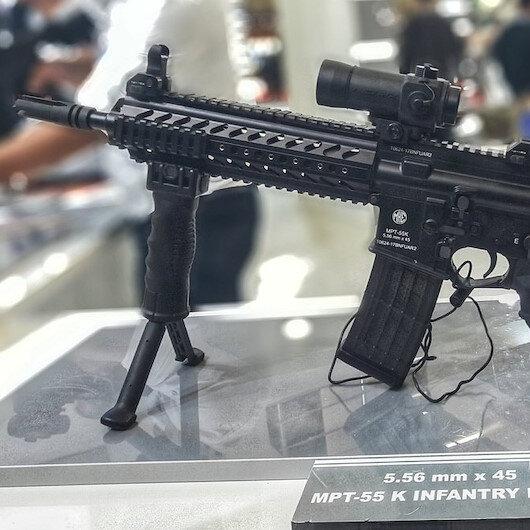 Kara Kuvvetleri'ne 1500 adet yerli tüfek