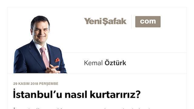 İstanbul'u nasıl kurtarırız?