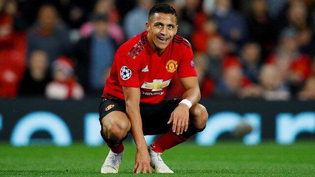 Manchester United'da Sanchez şoku