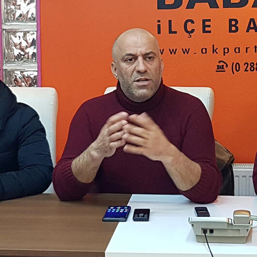 AK Parti İlçe Başkanı Gencal istifasını gözyaşlarıyla açıkladı