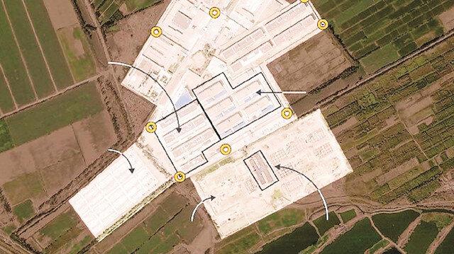 Çin'in toplama kampı görüntülendi