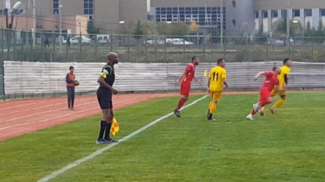 FIFA'da aday gösterilen Nijeryalı hakem Türkiye'de amatör maç yönetti