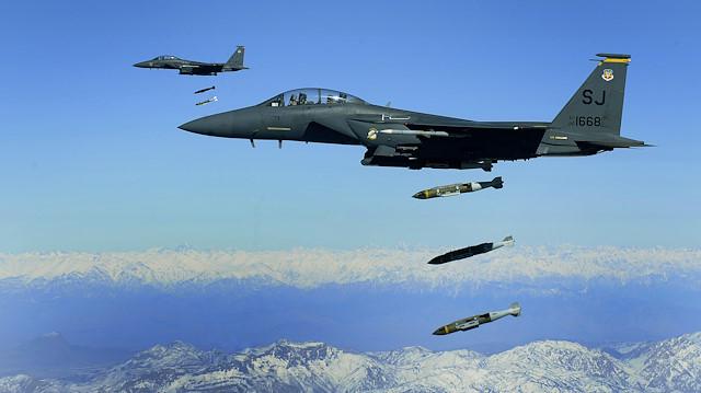 ABD, Afganistan'daki saldırılarında 10 ayda 6 bin bomba kullandı
