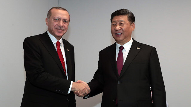 71ce3d0b047 Turkey s president meets with other leaders at G20