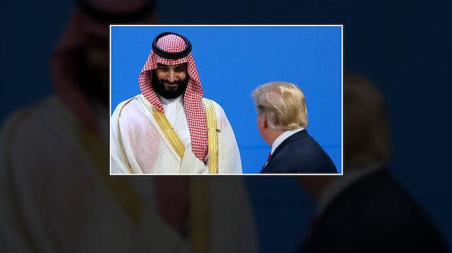 Trump Prens Selman ile kısaca görüştü