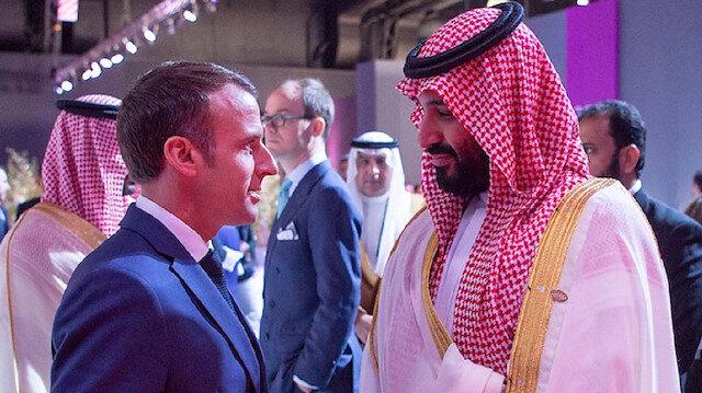 Prens Selman ve Macronun konuşması basına sızdı