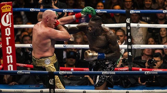 Merakla beklenen Wilder-Fury boks maçı berabere bitti