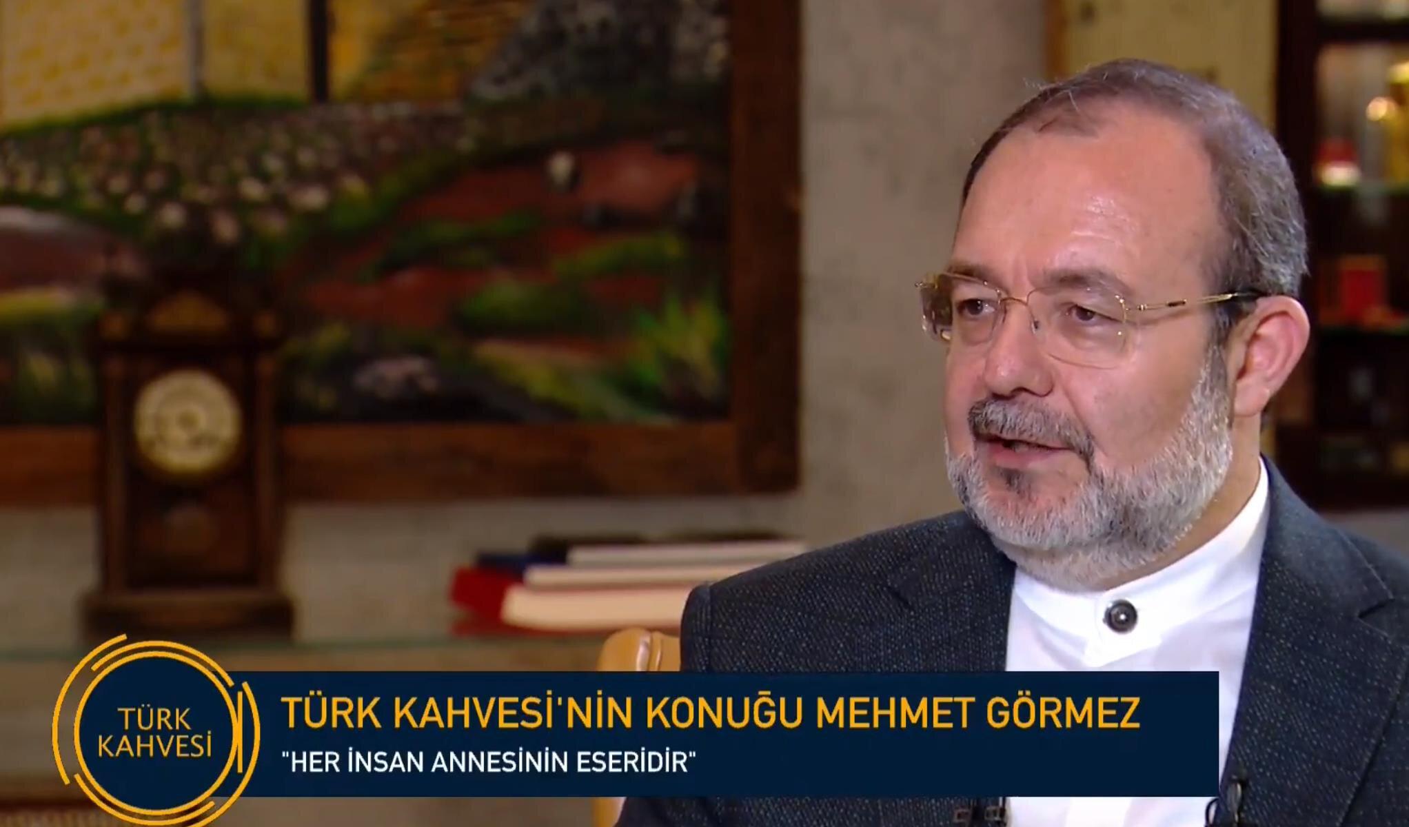 Mehmet Görmez, ''Her insan annesinin eseridir''